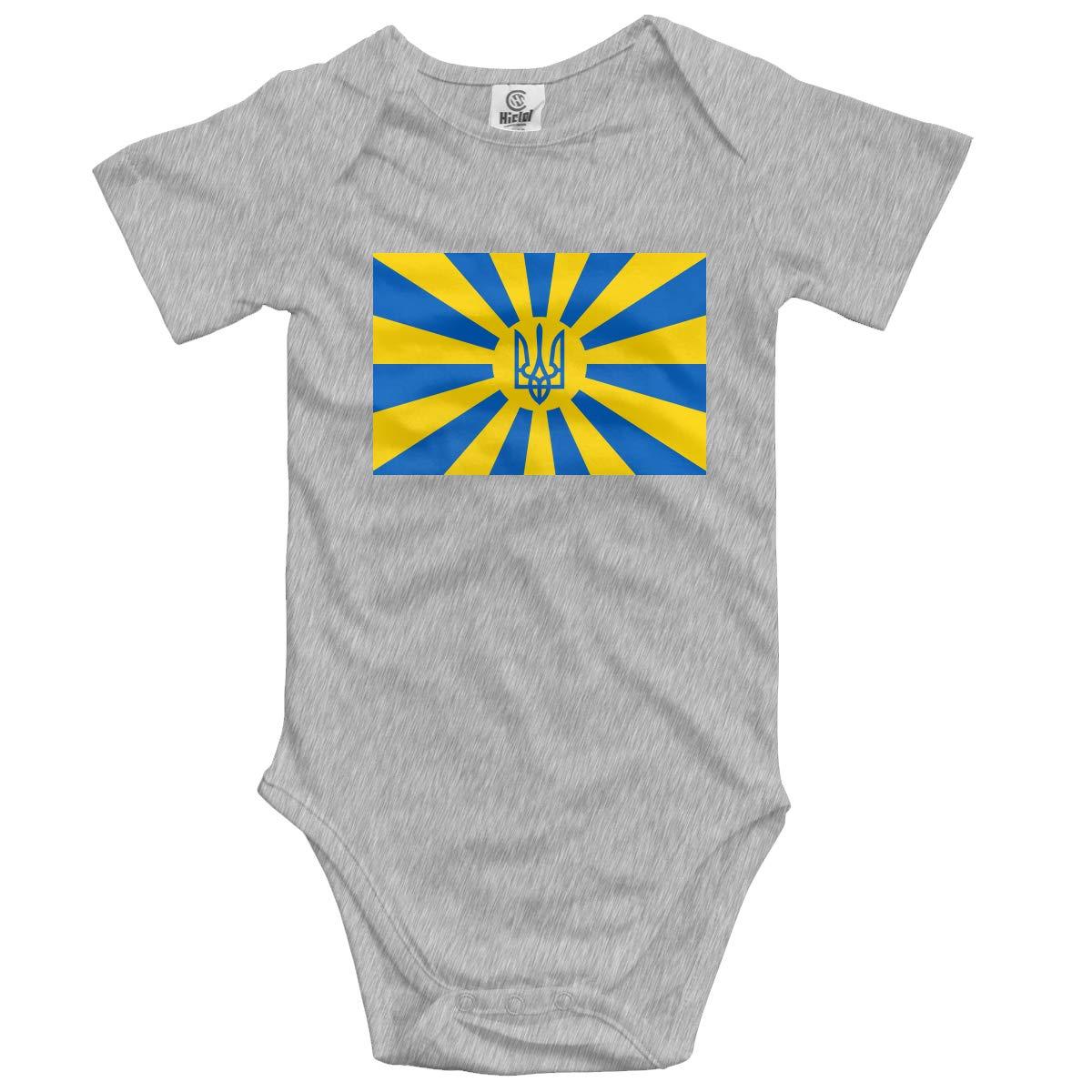 CUTEDWARF Baby Short-Sleeve Onesies Ukrainian Bodysuit Baby Outfits
