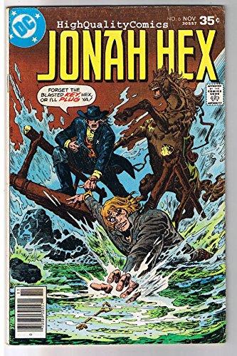 JONAH HEX #6, VG, Scar face, Ernie Chan, Lawman ,1977, more JH in store ()