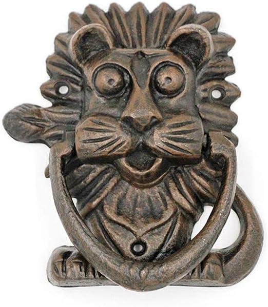 Vintage Door Knocker Metal Cast Iron Door Handle Heavy Duty Owl ...