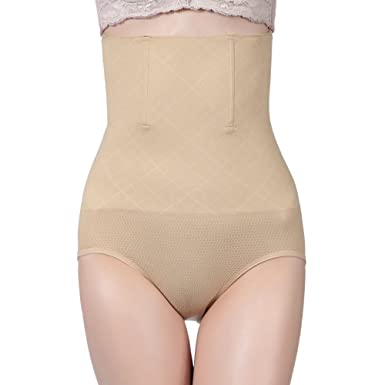 45dd553d13 wewewin Women s Shapewear Panties Body Shaper High Waist Slimming Panty  Briefs Tummy Control Seamless Cincher at Amazon Women s Clothing store