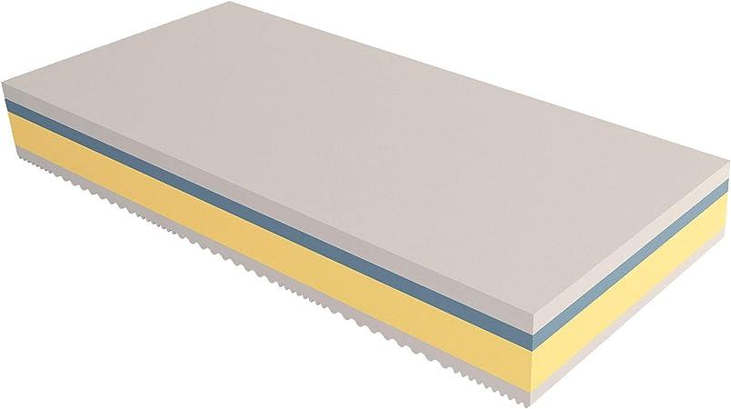 Ortopedico Antiacaro Baldiflex Materasso Singolo Easy 2.0 in Memory Foam 80x190x22cm