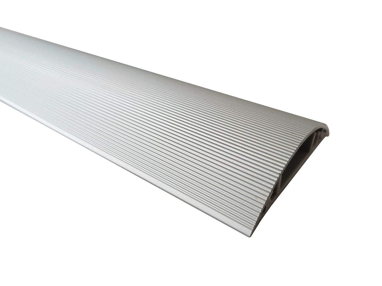 1m Aluminium Fussboden Kabelkanal 50mm Breit Selbstklebend Aussenmass