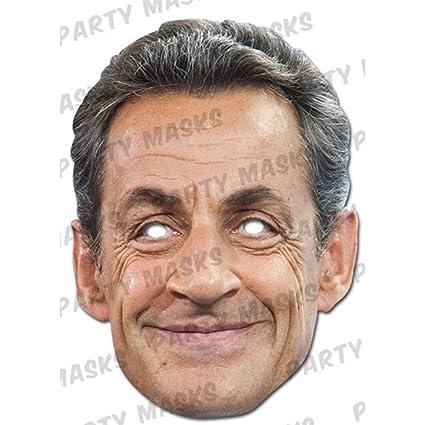 Nicolas Sarkozy mask (máscara/careta)