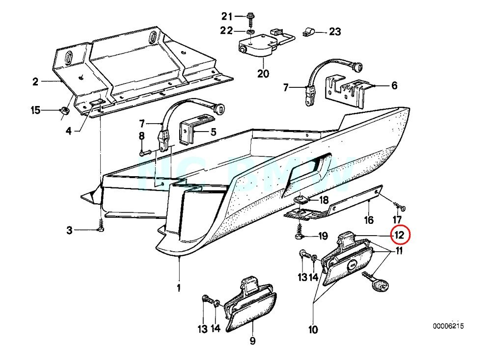 amazon bmw genuine catch upper part automotive 86 325E BMW Car Show