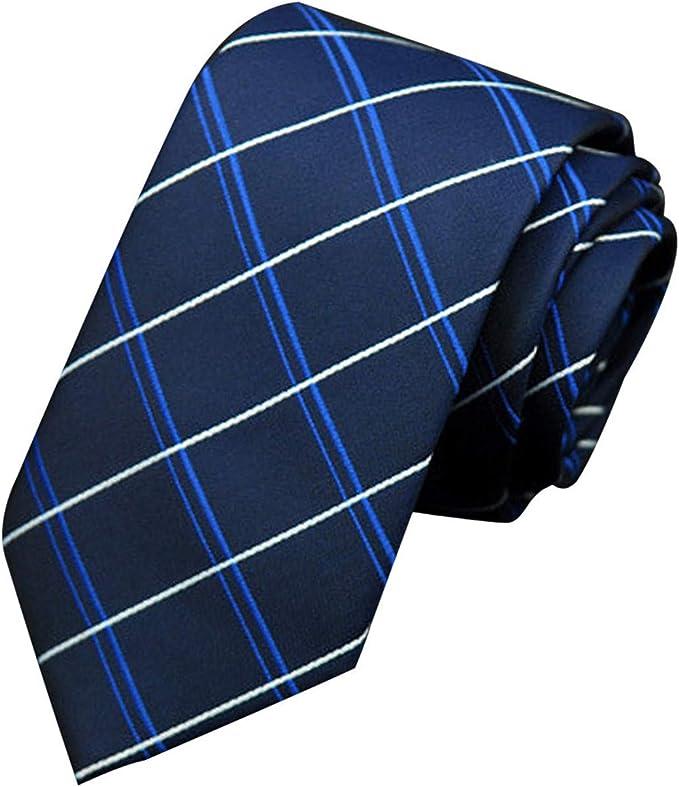 HCFKJ Hombres Corbata Business Professional Classica Casual ...