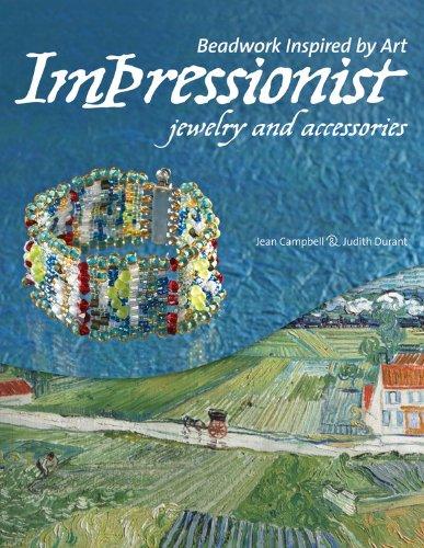 Risultati immagini per Beadwork Inspired by Art Impressionist