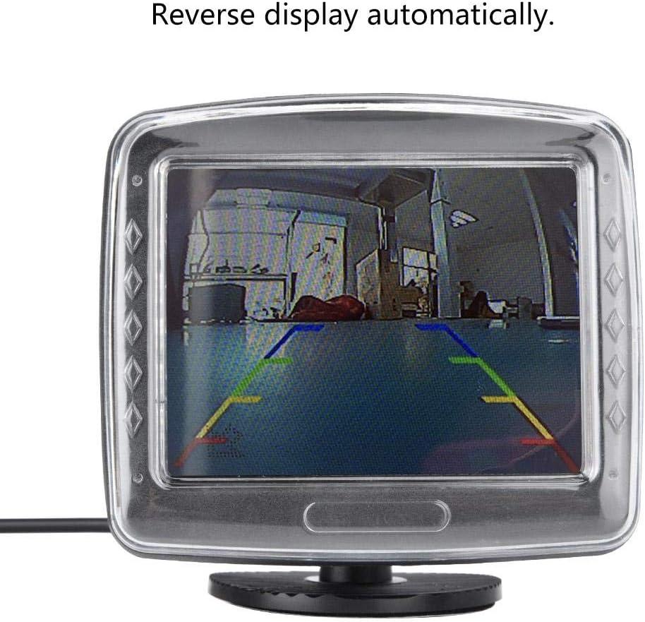 480 234 Haute D/éfinition 3.5 LCD TFT Vue Arri/ère Voiture Cam/éra Moniteur de Recul de Voiture. Garsent Moniteur de Vue Arri/ère de Voiture