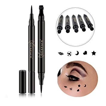 Back To Search Resultsbeauty & Health Beauty Essentials Brand Waterproof Black Eyeliner Pen With Moon Heart Star Stamp Eyes Makeup Liquid Eye Liner Pencil Seal Long-lasting Cosmetics