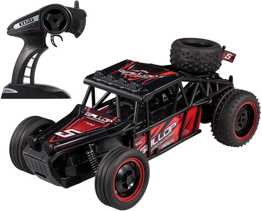 HHtoy 1:10 2.4Ghz RC Car 20km / h Super High Speed Cross Country Drift Cars 2WD RC Passion Drift Off-Road Racing Vehículo Juguetes for niños Cumpleaños