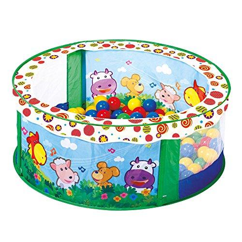 Bino Europe 88308 - Piscina de bolas para niños (incluye 80 bolas): Amazon.es: Juguetes y juegos