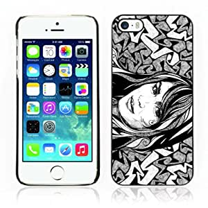 CQ Tech Phone Accessory: Carcasa Trasera Rigida Aluminio PARA Apple iPhone 5 5S - Cool Tattoo Illustration