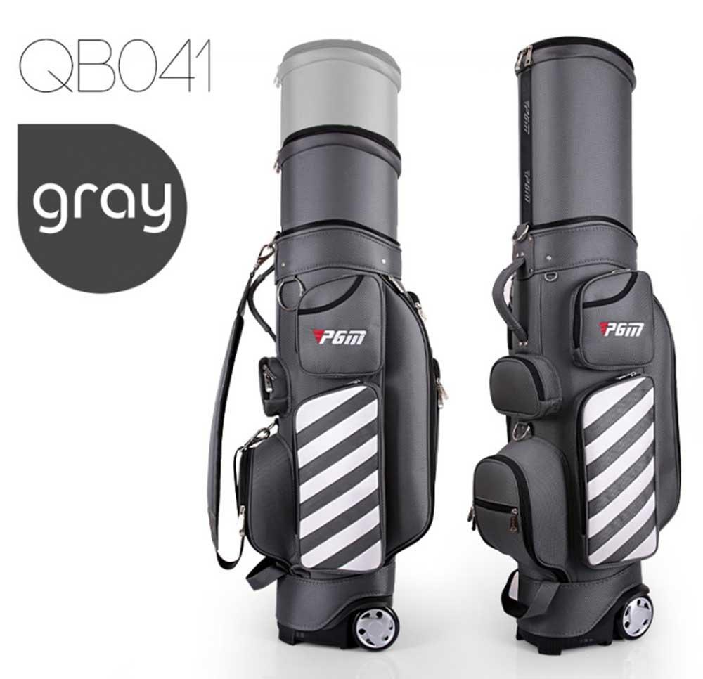 PGM - Bolsa de transporte para palos de golf, retráctil ...