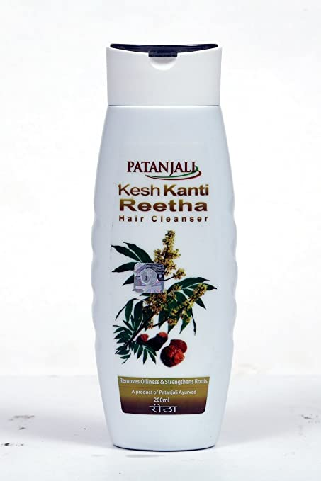 Patanjali Kesh Kanti Reetha Hair Cleanser Shampoo, 200ml at amazon