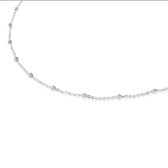 786be7723129 Elegante Gargantilla collar TOUS Chain en Plata de primera Ley ...