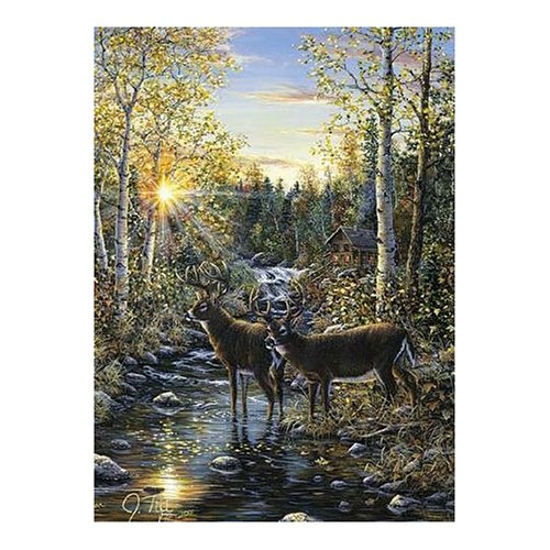 Whitetail Deer 1000 Piece Jigsaw Puzzle - Jeff Tift