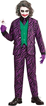 NET TOYS Disfraz Infantil Joker Malo - 153 - 158 cm, 11 - 13 años ...