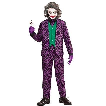 NET TOYS Disfraz Infantil Joker Malo - 123 - 128 cm, 5 - 7 ...