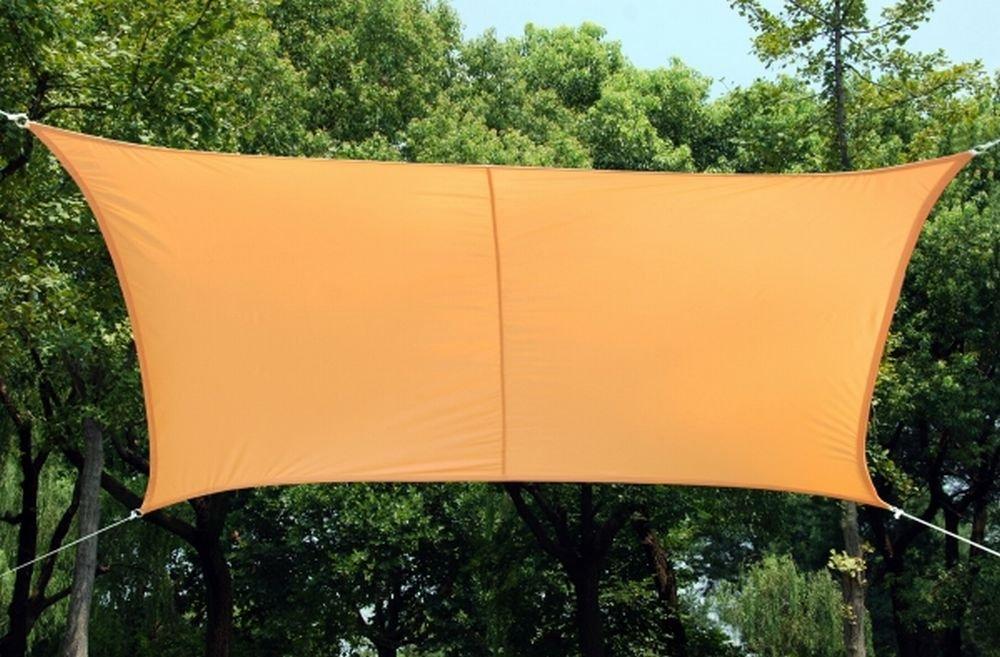 クッカバラ 日除けシェードセイル ピーチカラー 3.6m正三角形 紫外線98%カット 防水タイプ OL4012ST B07BWJ1PK7 14990 正三角形: 3.6 x 3.6m  正三角形: 3.6 x 3.6m