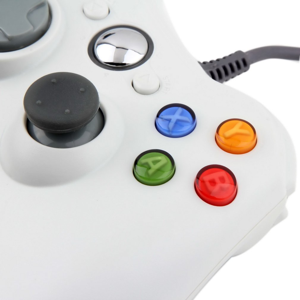 LUCKYKS Game Controller Gamepad Xbox 360 USB Wired PC Gamepad For ...