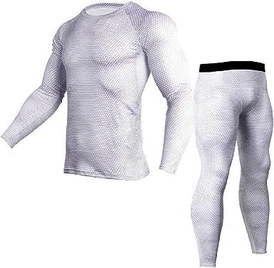 2019 20 nuevos Calzoncillos térmicos para Hombres Hombres Otoño Invierno Camisa + Pantalones Conjuntos cálidos Gruesos más Terciopelo Talla S-XXXXL-Set_M: Amazon.es: Ropa y accesorios