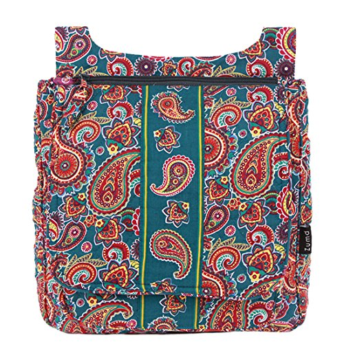 quilted messenger bag - 2