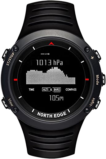 North Edge Reloj Impermeable Digital Escalada Senderismo ...