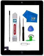 MMOBIEL Digitizer kompatibel mit iPad 2 (Schwarz) 9.7 Inch Touchscreen Front Display Ersatz inkl Werkzeug