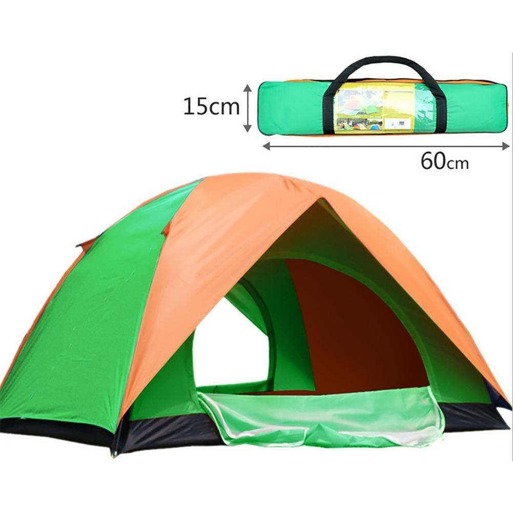 MIAO Outdoor Camping Double Door 4  Herrenchen Zelte