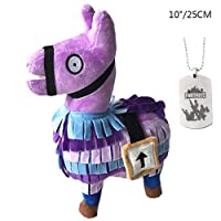 Comtervi  Fortnite Loot Llama Plush Toys,Stuffed Animals Toy for Kids,Child Birthdays Gifts Collection Toy (medium)