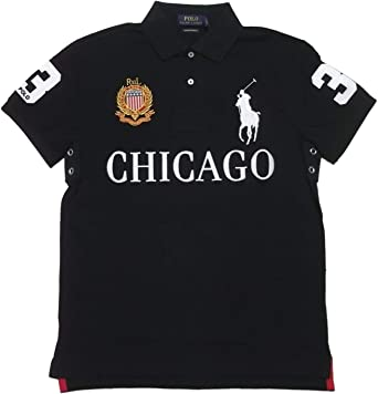 c8159912d Polo Ralph Lauren Mens Custom Slim Fit Mesh City Polo Shirt at ...