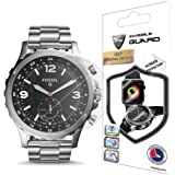 IPG for Fossil Q NATE 50 mm Screen Protector (2 Units) Invisible Ultra HD Clear Film Anti Scratch Skin Guard - Smooth/Self-Healing/Bubble -Free