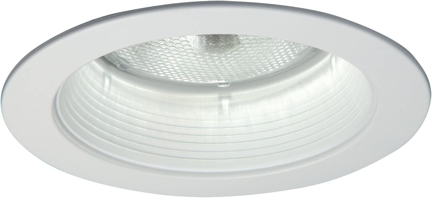 Halo Recessed 5014p 5 Inch Metal Trim With Baffle White Close To Ceiling Light Fixtures Amazon Com
