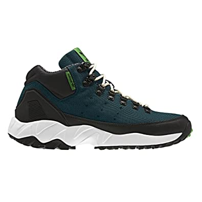 Adidas Men Torsion Trail Mid (Navy/Black/Green) G95938 Shoe Brand New
