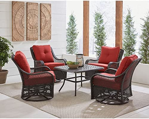 Hanover ORL5PCCTSW4-BRY Patio Chat Set