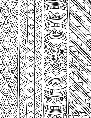 Download Color My Cover Notebook (lotus design, 200pg): Therapeutic notebook for writing, journaling, and note-taking with coloring design on cover for inner ... Cover Notebooks and Journals) (Volume 53) pdf