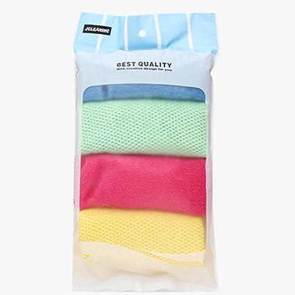 SUNNY & Baby 4 Pack Super suave microfibra paños Streak libre multiusos sin productos químicos lavar
