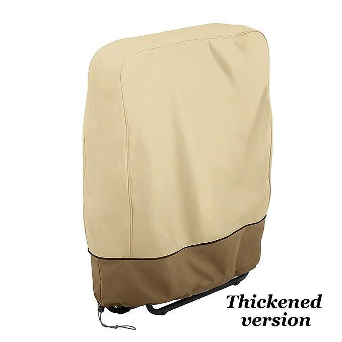 Amazon.com: Juego de 2 fundas para sillas plegables de ...