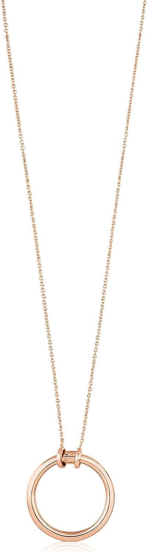 Collar mujer TOUS Hold con colgante en Vermeil rosado 18 kt - Largo 90 cm