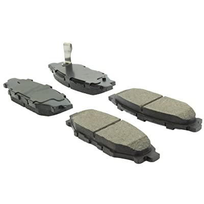 StopTech 309.11140 Street Performance Rear Brake Pad: Automotive