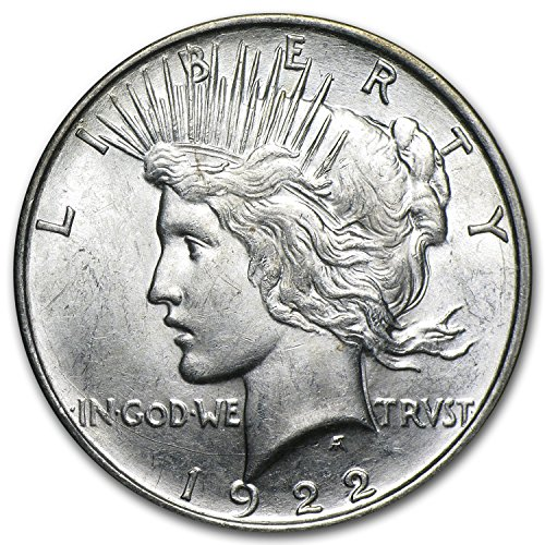 1922 D Peace Dollar BU $1 Brilliant Uncirculated