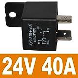 Ehdis Car Relay 4 Pin 24v 40amp Spst Model