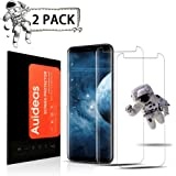 [2Pack]Samsung Galaxy S8 Screen Protector,Auideas[Tempered Glass] Screen Protector with [9H Hardness] [Crystal Clear] [Easy Bubble-Free Installation][Full Coverage][No Lifted Edges]