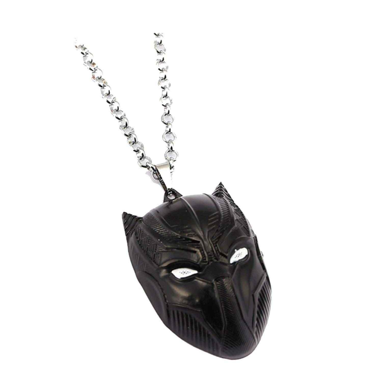 Panther Black Mask Necklace Pendant