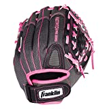 Kyпить Franklin Sports Windmill Series 11-Inch Lightweight Softball Glove, Pink/Gray на Amazon.com