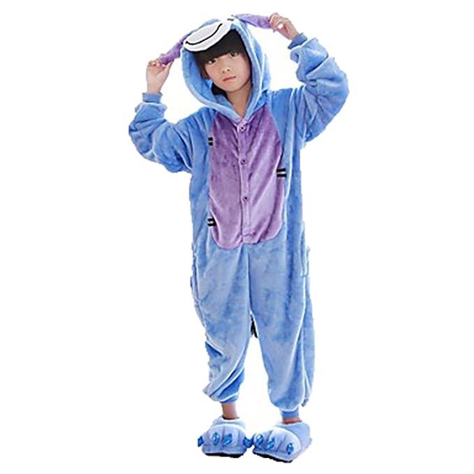 Disfraz Pijamas Infantil Animales Divertidas Temporada Moda Varios Modelos y Tallas (100 (2-