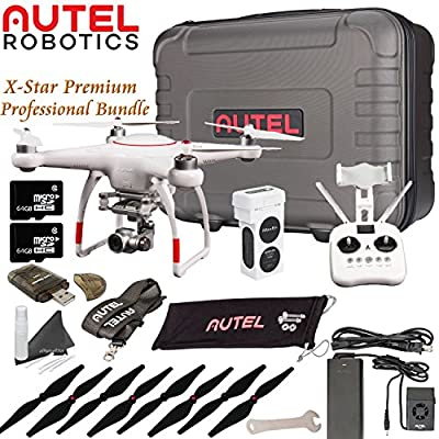 Autel Robotics X-Star Premium Drone Beginners Bundle (White) by Autel Robotics