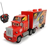 Dickie-Spielzeug 203089002Disney Cars Carbon RC Turbo Mack Truck–1: 24Scale Red