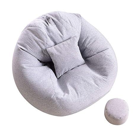 Amazon.com: Lazy Puf para silla, funda de sofá, dormitorio ...