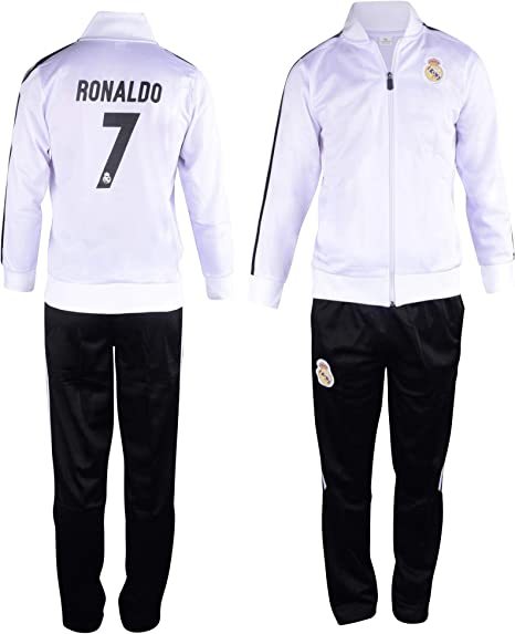 Cristiano Ronaldo #7 Kids Soccer Tracksuit All Youth Sizes CR7 Football Track Jacket Top or Tracksuit with Pants
