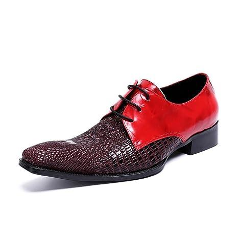 Cuero Genuino de los Hombres/Zapatos Formales 2018 Primavera/Otoño/Invierno Cabeza Cuadrada